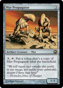 Magic the Gathering Scars of Mirrodin Single Card Rare #182 Myr Propagator