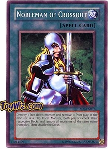 YuGiOh GX Zombie Madness Single Card SD2-EN016 Nobleman of Crossout