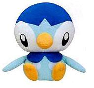 Pokemon Japanese Deluxe 10 Inch Plush Figure Piplup
