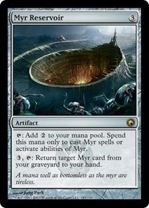 Magic the Gathering Scars of Mirrodin Single Card Rare #183 Myr Reservoir