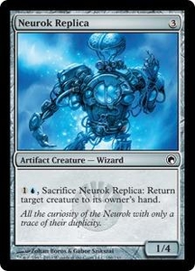 Magic the Gathering Scars of Mirrodin Single Card Common #186 Neurok Replica