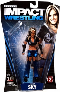 TNA Wrestling Deluxe Impact Series 7 Action Figure Velvet Sky