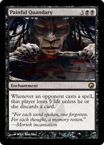 Magic the Gathering Scars of Mirrodin Single Card Rare #73 Painful Quandary