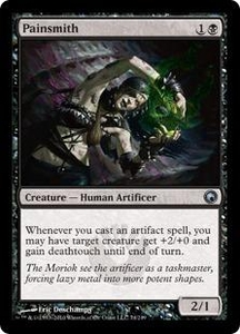 Magic the Gathering Scars of Mirrodin Single Card Uncommon #74 Painsmith