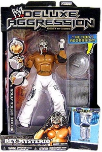 WWE Wrestling DELUXE Aggression Best of 2008 Action Figure Rey Mysterio