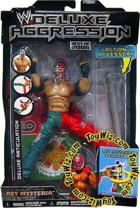 WWE Wrestling DELUXE Aggression Best of 2006 Action Figure Rey Mysterio