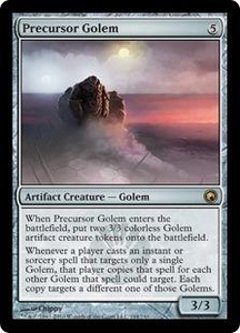 Magic the Gathering Scars of Mirrodin Single Card Rare #194 Precursor Golem