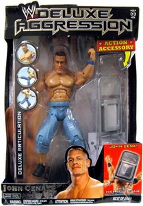 WWE Wrestling DELUXE Aggression Best of 2009 Action Figure John Cena