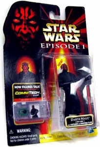 Star Wars Phantom Menace Darth Maul [With Lightsaber with Removable Blade]