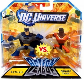 DC Universe Action League Mini Figure 2-Pack Batman & Bronze Tiger