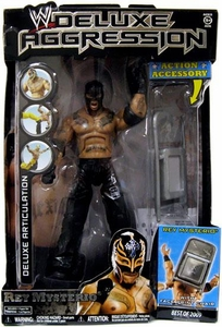 WWE Wrestling DELUXE Aggression Best of 2009 Action Figure Rey Mysterio