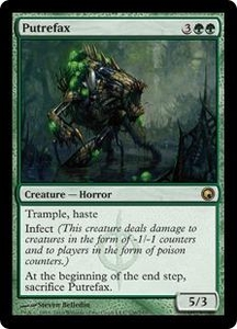 Magic the Gathering Scars of Mirrodin Single Card Rare #126 Putrefax