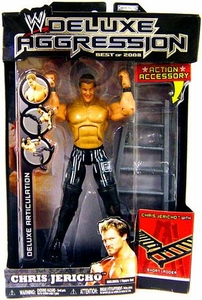 WWE Wrestling DELUXE Aggression Best of 2008 Action Figure Chris Jericho