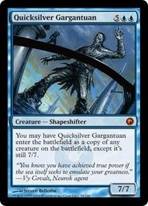 Magic the Gathering Scars of Mirrodin Single Card Mythic Rare #39 Quicksilver Gargantuan