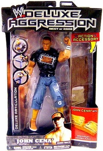 WWE Wrestling DELUXE Aggression Best of 2008 Action Figure John Cena