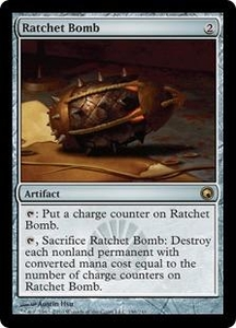 Magic the Gathering Scars of Mirrodin Single Card Rare #196 Ratchet Bomb