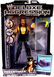 WWE Wrestling DELUXE Aggression Best of 2008 Action Figure Undertaker