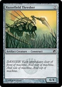 Magic the Gathering Scars of Mirrodin Single Card Common #197 Razorfield Thresher