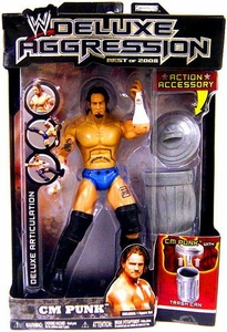 WWE Wrestling DELUXE Aggression Best of 2008 Action Figure CM Punk