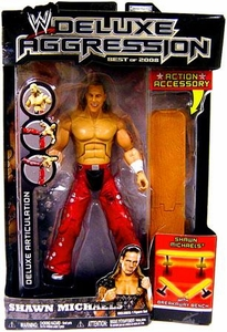 WWE Wrestling DELUXE Aggression Best of 2008 Action Figure Shawn Michaels