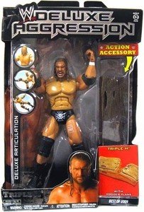 WWE Wrestling DELUXE Aggression Best of 2009 Action Figure Triple H