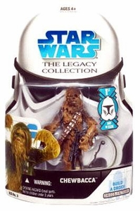 Star Wars 2008 Legacy Collection Build-A-Droid Action Figure BD No. 03 Chewbacca [First Day Issue]
