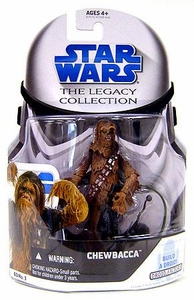 Star Wars 2008 Legacy Collection Build-A-Droid Action Figure BD No. 03 Chewbacca