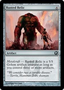Magic the Gathering Scars of Mirrodin Single Card Uncommon #199 Rusted Relic