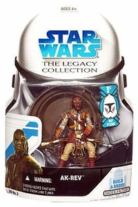 Star Wars 2008 Legacy Collection Build-A-Droid Action Figure BD No. 05 Ak-Rev [First Day of Issue]