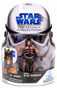 Star Wars 2008 Legacy Collection Build-A-Droid Action Figure BD No. 06 Yarna Dal Gargan