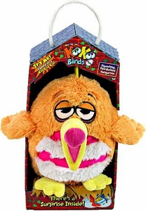 KooKoo Birds 6 Inch Plush Squawking, Pink-Bellied Nangaroon
