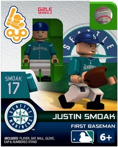 OYO Baseball MLB Generation 2 Building Brick Minifigure Justin Smoak [Seattle Mariners]