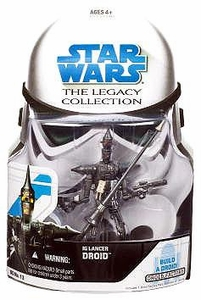 Star Wars 2008 Legacy Collection Build-A-Droid Action Figure BD No. 13 IG Lancer Droid