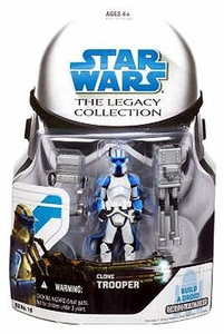 Star Wars 2008 Legacy Collection Build-A-Droid Action Figure BD No. 16 Clone Trooper [Quad Cannon]