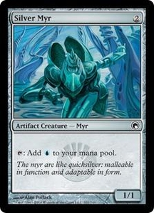 Magic the Gathering Scars of Mirrodin Single Card Common #202 Silver Myr