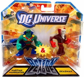 DC Universe Action League Mini Figure 2-Pack Martian Manhunter & Deadman