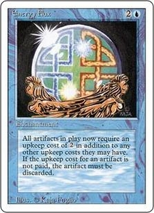 Magic the Gathering Revised Edition Single Card Uncommon Energy Flux