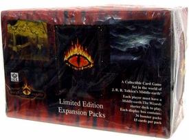 Middle Earth Iron Crown Card Game MECCG The Dragons Booster BOX [36 Packs]