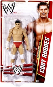 Mattel WWE Wrestling Basic Series 27 Action Figure #19 Cody Rhodes