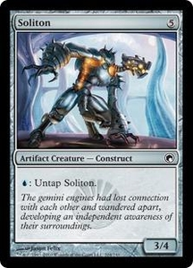 Magic the Gathering Scars of Mirrodin Single Card Common #204 Soliton