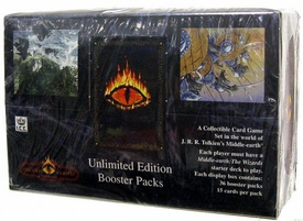 Middle Earth Iron Crown Card Game MECCG The Wizards Booster BOX [36 Packs]