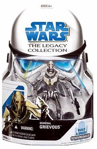 Star Wars 2008 Legacy Collection Build-A-Droid Action Figure BD No. 25 General Grievous [Perfect Scale!]