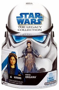 Star Wars 2008 Legacy Collection Build-A-Droid Action Figure BD No. 27 Breha Organa [Queen Organa]
