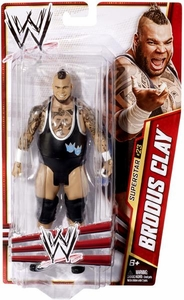 Mattel WWE Wrestling Basic Series 27 Action Figure #23 Brodus Clay