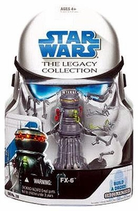Star Wars 2008 Legacy Collection Build-A-Droid Action Figure BD No. 28 FX-6