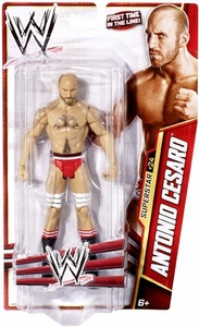 Mattel WWE Wrestling Basic Series 27 Action Figure #24 Antonio Cesaro