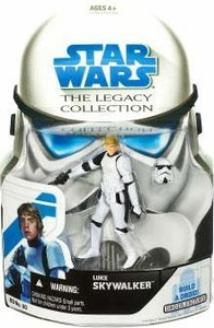 Star Wars 2008 Legacy Collection Build-A-Droid Action Figure BD No. 30 Luke Skywalker [Stormtrooper]