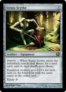 Magic the Gathering Scars of Mirrodin Single Card Rare #206 Strata Scythe
