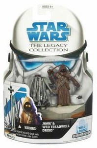 Star Wars 2008 Legacy Collection Build-A-Droid Action Figure BD No. 33 Jawa & Treadwell Droid