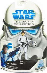 Star Wars 2008 Legacy Collection Build-A-Droid Action Figure BD No. 31 Han Solo [Stormtrooper]